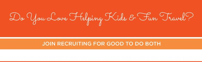 Help kids and party for recruiting for Good